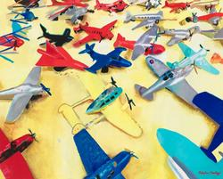 sperone-westwater-malcom-morley-art-planes